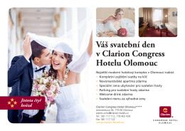 ZDE - Clarion Congress Hotel Olomouc