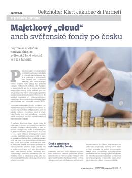 """Majetkový """"cloud"""" aneb svěře nské fondy po česku"""