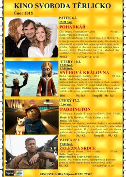 Kino ÚNOR 2015.