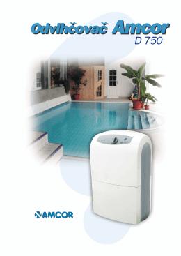Odvlhčovač Amcor D 750 - prima