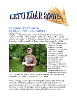 ix. katovický memoriál krajková 2015 - 29.157