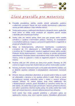 Zlatá pravidla pro motoristy.docx