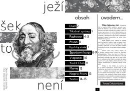 Ježíšek - říjen 2015 - Gymnázium Brno, třída Kapitána Jaroše