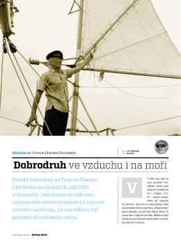 Dobrodruh ve vzduchu i na moři - Yachting Revue