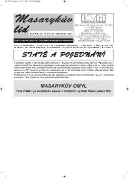 Masarykův lid v PDF 4/2015