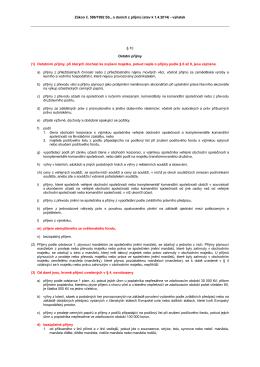 Zákon č. 586/1992 Sb., o daních z příjmů (stav k 1.4.2014)