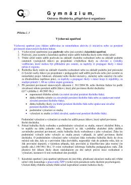 směrnice pro oběh písemností a účetních dokladů
