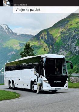 Scania Touring - vítejte na palubě