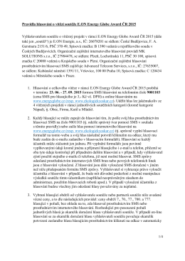 Pravidla pro hlasovani EEGA 2015
