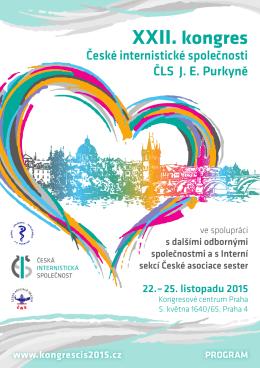 Odborný program ke stažení - XXII. kongres České internistické