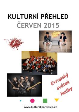 ČERVEN 2015 - Kulturní dům Kopřivnice