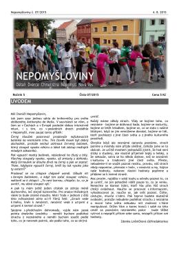 Nepomyšloviny - číslo 7/2015