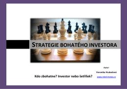 Strategie bohatého investora