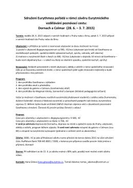 Více informací v příloze (PDF leták)