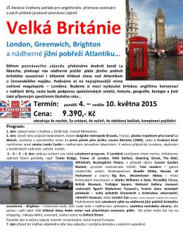 Velká Británie London, Greenwich, Brighton