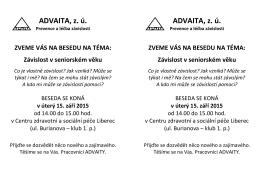 ADVAITA, z. ú. ADVAITA, z. ú.