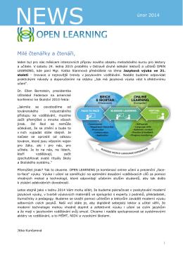 Novinky 2015/1 - Open Agency sro