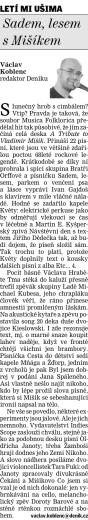 Bazarem proměn... (recenze) - Václav Koblenc - Deník