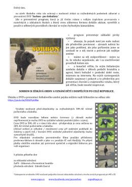 DVD_Sorbon_predprodej