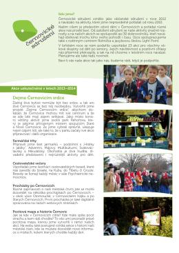 Informace o Černovickém sdružení