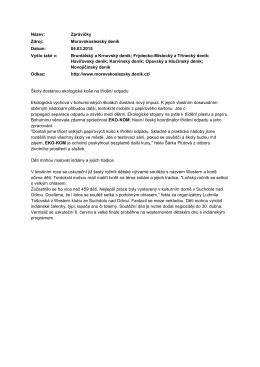 Zprávičky, Moravskoslezský deník[193 KB, pdf] - Eko-kom