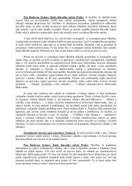 Pan Radovan Steiner, Rada hlavního města Prahy: Já myslím, že