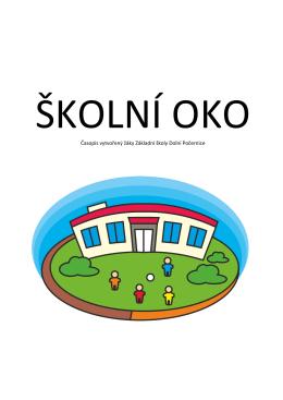 Časopis vytvořený žáky Základní školy Dolní Počernice