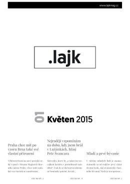 01 - Studentský magazín .Lajk