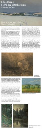 Julius Mařák a jeho krajinářská škola