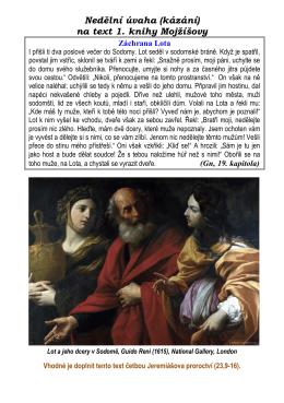 Gn 19,01-09 - Sodoma a Gomora
