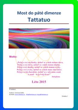 Zvěstník Tattatuo - Centrum TATTATUO