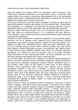 Slovo biskupa Františka na zasedání zastupitelstva města Plzně