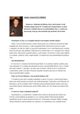 Rozhovor s Danielem Keřlíkem naleznete zde