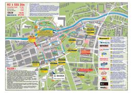 Mapa SSS Zlín