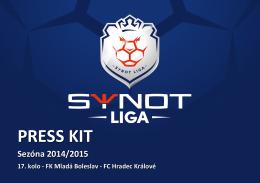 PRESS KIT - SYNOT liga