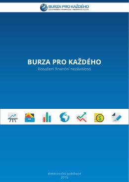 1. E-book - Burza pro každého