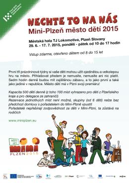 Mini-Plzeň město dětí 2015