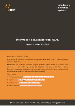verze 3.1 - Poski REAL