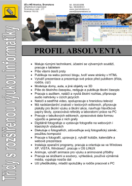 PROFIL ABSOLVENTA