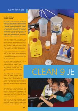 CLEAN 9 JE - i