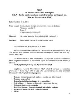 Dokument PDF - KSLP - Česká společnost pro zaměstnaneckou