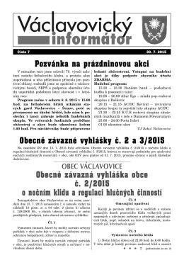 aktuální informátor