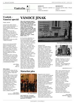 2. číslo časopisu Vlaštofka