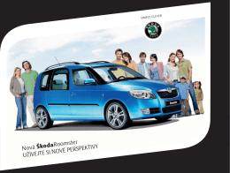 brožuru Škoda Roomster