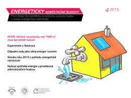 NOVÉ: Veřejné novostavby nad 1500 m2 musí být téměř nulové