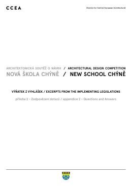 NOVÁ šKOLA CHýNĚ / NEw SCHOOL CHýNĚ