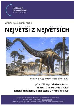 Největší z největších - Hvězdárna a planetárium Hradec Králové