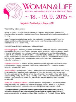 Největší festival pro ženy v ČR