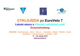 CYKLOJÍZDA po EuroVelo 7