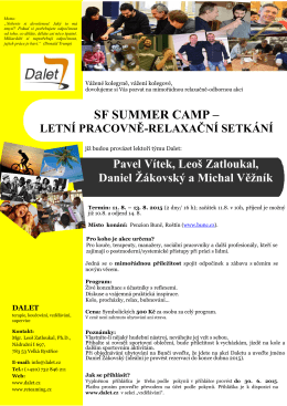 SF SUMMER CAMP –